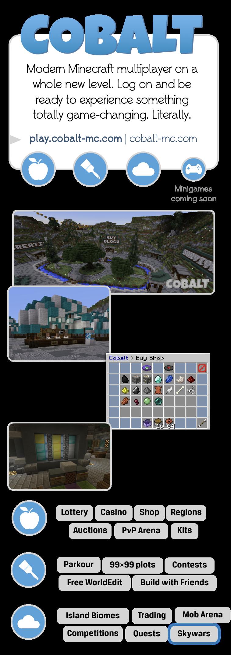 Cobalt Promotional Infographic