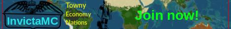 Geopolitics---Earthmap---INVICTAMC---Towny---War
