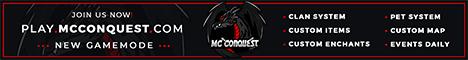 MC Conquest | 1.8 - 1.16 | New Gamemode