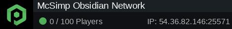 McSimp Obsidian Network