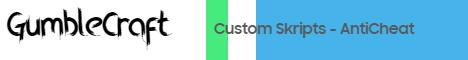 GumbleCraft - MineBlock and Custom Skripts